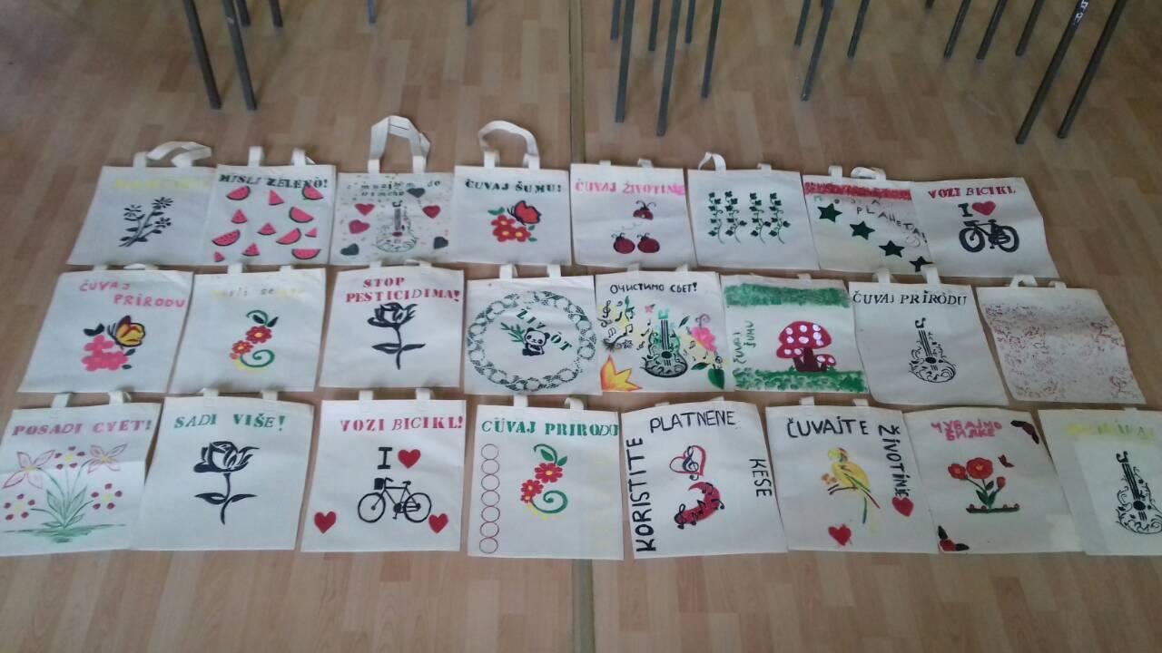 Pronadji svoj hobi – oslikavanje eko-torbi